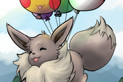 Eevee Used Fly!