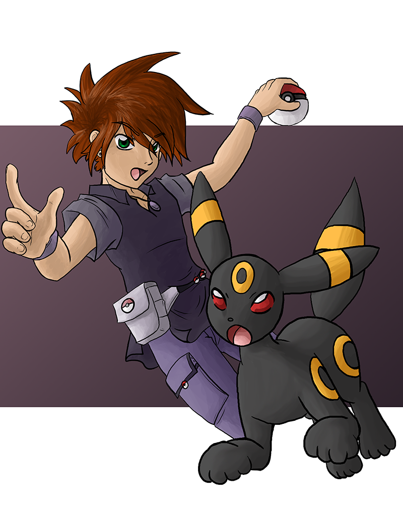 Gary and Umbreon
