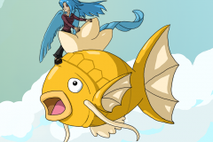 Arti and golden Magikarp
